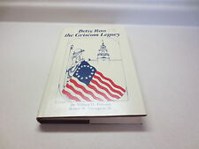 Betsy Ross the Griscom Legacy by Dr. William D. Timmins vintage 1983 hardcover