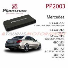 Filtro aria sportivo Pannello Pipercross Mercedes Benz Classe C E SLC SLK GLC