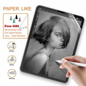 Paper Like PET Matte Write Painting Film Screen Protector For iPad 10.2 2019 ...