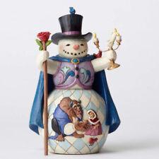Disney Traditions Beauty & The Beast Snowman Enchanted #4051973 Jim Shore NIB