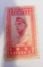 Italien, Regio Esercito - Vittorio Emanuele III - Victor Emmanuel III 1943!