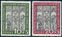 BUND 1951, MiNr. 139-140, 139-40, postfrisch, Mi. 220,-