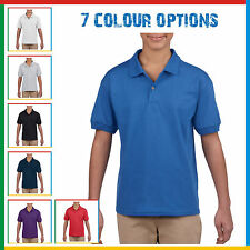 GILDAN KIDS POLO SHIRT Poly/Cotton Dryblend Childrens Youth Jersey Top 7 Colours