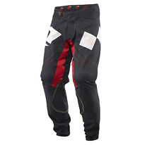 One Industries Vapor Lightweight Vented Motocross MX ATV Pants Size 28 Black Red