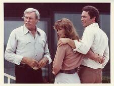 LINDA GRAY HOWARD KEEL JARED MARTIN DALLAS TV SHOW COLOR 1983 CBS TV PHOTO
