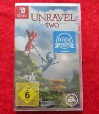 Unravel two, Nintendo Switch Spiel Neu, deutsche Version