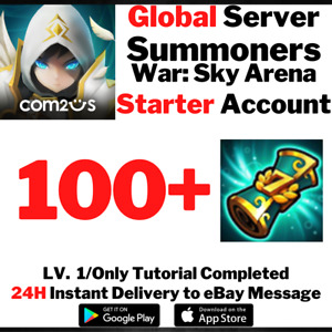[Global] [Instant] 100+ Special Scroll Summons Summoners War Starter Account