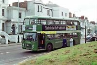 PHOTO  MAIDSTONE & DISTRICT BUS NO. 5875 (BRISTOL VRT) IN LONDON ROAD 1988