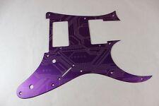 Purple Circuit Anodized Aluminum pickguard fits Ibanez (tm) RG550 Jem RG HXH HH