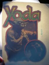 Star Wars Yoda 1970's Vintage Americana Iron On Transfer -Nice, B-4