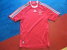 Adidas France FFF Football Soccer Jersey Mens small red mbappe zidane henry star