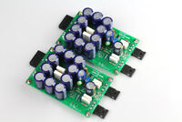 Assembeld PA-05 PASS ACA Single-ended Class A FET+MOS amp board 5W+5W   L4-48