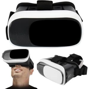 VR VIRTUAL REALITY GLASSES HEADSET - PADDED SECTION ON GOGGLES-SLIDING VIEWING