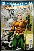 JUSTICE LEAGUE #7 variant (REBIRTH 2016 DC Comics) Comic Book NM - AQUAMAN