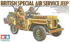 Servicio Aéreo Especial Británico (SAS Jeep Willys) 1/35 Tamiya