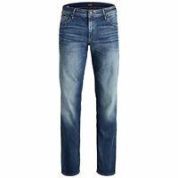 Jack & Jones  Mens Big King Size Regular Fit Denim Trousers Designer Jeans 44-54