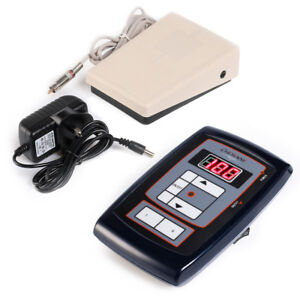 Solong Tattoo Digital Tattoo Power Supply Kit with Foot Pedal Clip Cord Kit P164