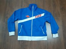 Russian Men's Track Jacket Size XL Five Star Embroidery Vintage  - XL