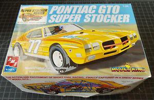 1:25 SLOT CAR BODY - PONTIAC GTO SUPER STOCKER MODEL - AMT KIT #21464P