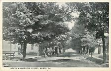A Quiet Day On North Washington Street, Muncy, Pennsylvania Pa