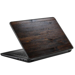 """Skin Decal for HP 2000 Laptop (2013-14) 15.6"""" 15"""" / Wooden wall pattern"""