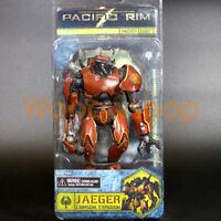 "NECA Pacific Rim Jaeger Crimson Typhoon 7"" Action Figure Robot Collection New"