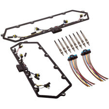 For Ford 7.3L Powerstroke 99-03 Valve Cover Gaskets W/ Harness Glow Plug Set