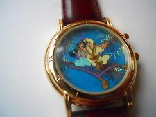 New Fossil men's Aladdin leather band Analog,Quartz & battery watch.2192/7500