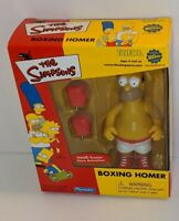 Playmates Yoyfare Wizard The Simpsons Boxing Homer Figure w/Voice Activation