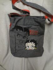 Gorgeous BETTY BOOP Denim Large Shoulder Bag