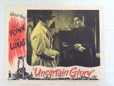 """Errol Flynn starring in """" Uncertain Glory"""" 1944  Warner Bros with Paul Lukas"""