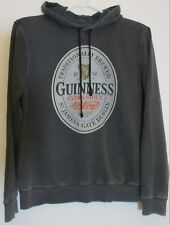Guinness Extra Stout Lucky Brand Hoodie Gray Men Long Sleeve L