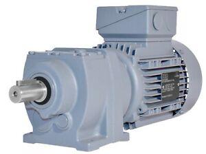 KEB Stirnradgetriebemotor G13A DM71G4, Lüftung