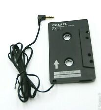 "Aiwa Cap-6 Car Cassette to 1/8"" Audio Jack Adapter. Use w/iPod, Mp3, Smartphones"