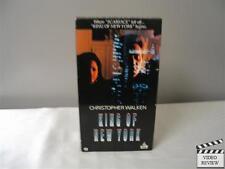 King of New York (VHS, 1991) Christopher Walken Larry Fishburne David Caruso