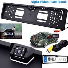 170° HD IR Caméra de Recul Vue Arrière Vision Nocturne Plaque d'immatriculation