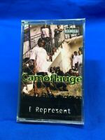 Camoflauge – I Represent | Cassette Tape Album 2000 Thug Rap USA *NEW SEALED*