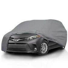 [CSC]Waterproof All Weather Full Car Cover For Toyota Sienna Minivan [1998-2021]