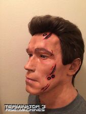 Terminator GENYSIS Stage 1 Life Size 1:1 Arnold Schwarzenegger BUST Custom