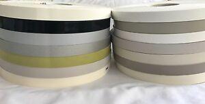Pre-Glued Iron On Melamine 18/19/22mm Edging Banding Tape Many Colour & Designs