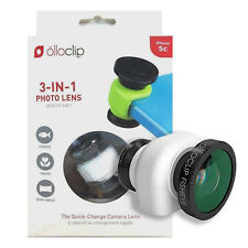 Olloclip 3-In-1 Photo Lens For iPhone 5c - Smooth White