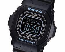 Rare Casio Baby-G Digital BG-5600BK-1ER Free Shipping Ladies Black Watch