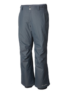 Men's Big Columbia Bugaboo II Ski Snowboard Pants Graphite NWT Waterproof 1X