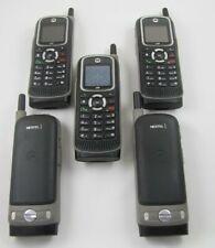 5 Motorola i365 Nextel Walkie-Talkie Cell Phone Lot Hearing Aid