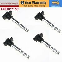 4pcs Ignition Coil Fits For Volkswagen Eos Golf Passat Audi A4 A6 07K905715C
