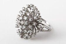 Vintage Gold Diamond Starburst Ring.