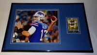 Josh Allen Framed 11x17 ORIGINAL Rookie Card & Photo Display Buffalo Bills