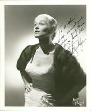 Gretchen Wyler  (Vintage, Inscribed) signed photo COA