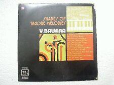 V BALSARA SHADES OF TAGORE BANGLA  1978 RARE LP BOLLYWOOD INSTRUMENTAL INDIA VG+