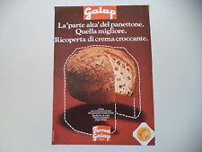 advertising Pubblicità 1975 PANETTONE GALUP FERRUA